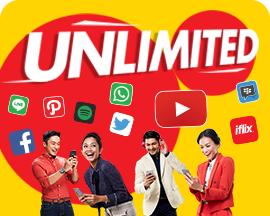 PAKET INTERNET INDOSAT (Data PROMO) - 1GB+Unli APPS, 30hari